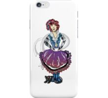 Stacy and her cat Crystal iPhone Case/Skin