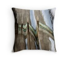 Fence in the Water Throw Pillow
