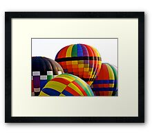 A Bunch o' Balloons Framed Print