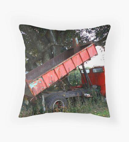Abandoned Tipper Throw Pillow