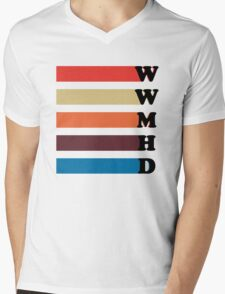 What Would Mariska Hargitay Do? Mens V-Neck T-Shirt