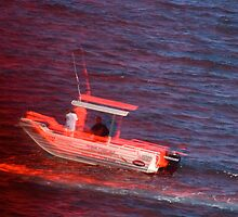 Manly Beach Boat by condyak