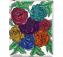A Rose by Any Other Name, Art by Lindsay Carpenter iPad Case/Skin