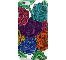 A Rose by Any Other Name, Art by Lindsay Carpenter iPhone Case/Skin