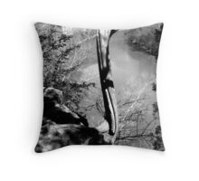 Lonely Overlook Throw Pillow
