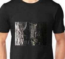 Tree bark abstract in nature Unisex T-Shirt
