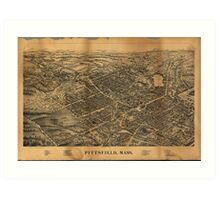 Pittsfield Massachusetts (1899) Art Print
