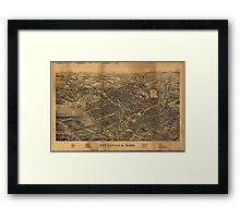 Pittsfield Massachusetts (1899) Framed Print