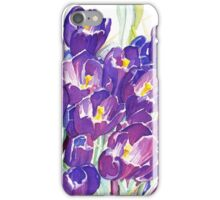 The First Crocuses of Spring iPhone Case/Skin