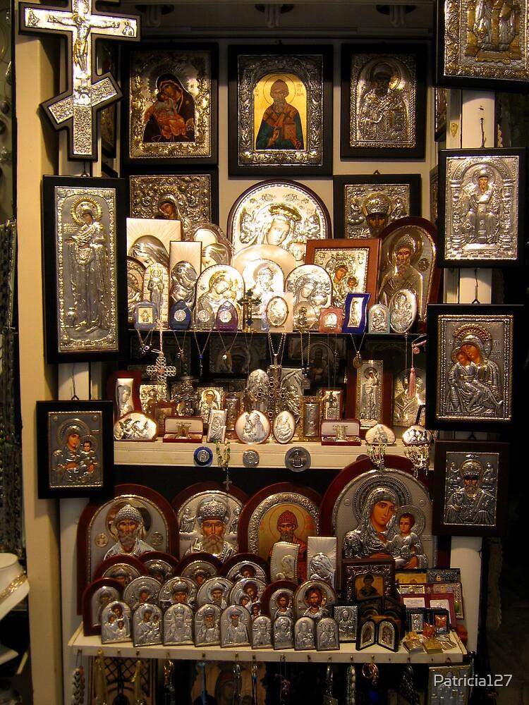 Icon Shop in Corfu by Patricia127