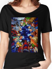 CAPCOM LEGENDS Women's Relaxed Fit T-Shirt