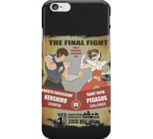 Ken Shiro VS Pegasus Boxe poster iPhone Case/Skin