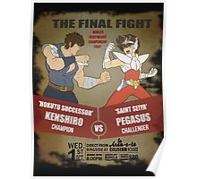 Ken Shiro VS Pegasus Boxe poster Poster