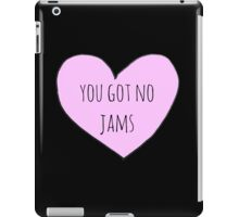 No Jams iPad Case/Skin