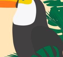 Tropical Jungle Toucan Sticker