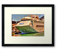 Big Boat Framed Print