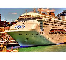 Big Boat Photographic Print