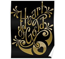 Heart of Gold - wording only Poster