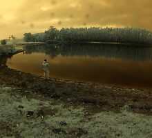 'Fishing in the rain', Pemberton, WA by BigAndRed