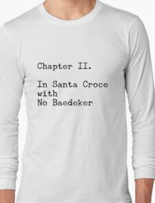 A Room with a View, Chapter II Long Sleeve T-Shirt
