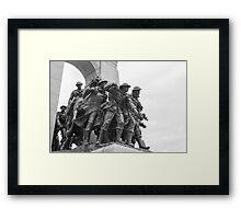 Canada's National War Memorial in Ottawa, Canada Framed Print