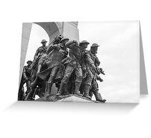 Canada's National War Memorial in Ottawa, Canada Greeting Card