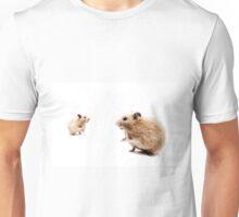 Hamster Hi Five. Unisex T-Shirt