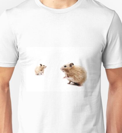 Hamster Hi Five. Unisex T-Shirt