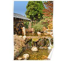 Mill shed at Hobart Botanical Gardens Poster