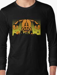 Robot Attack Long Sleeve T-Shirt