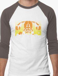 Robot Attack Men's Baseball ¾ T-Shirt