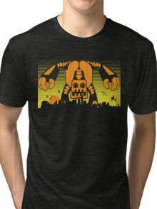 Robot Attack Tri-blend T-Shirt