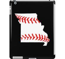 Missouri Baseball iPad Case/Skin