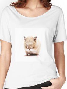 Sleepy Hamster Women's Relaxed Fit T-Shirt