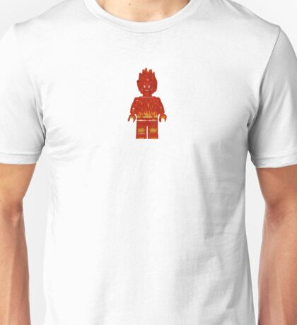 LEGO Human Torch / Johnny Storm Unisex T-Shirt