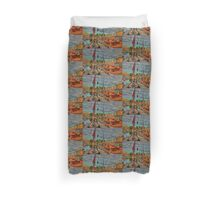 """""""A Festival of Boats"""" Classic Boats Duvet Cover"""