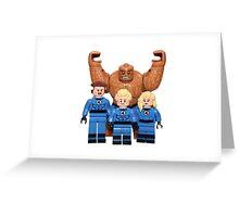 LEGO Fantastic Four Greeting Card