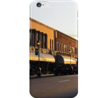 Street That Rides Into The Sunset iPhone Case/Skin