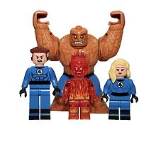 LEGO Fantastic Four by jenni460