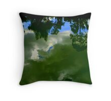 heaven below. ii Throw Pillow