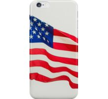 Red White & Blue American Flag iPhone Case/Skin