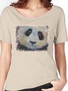 Panda Smile Women's Relaxed Fit T-Shirt
