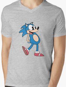 Mr. Needlemouse Mens V-Neck T-Shirt