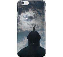 Crescent Sun over Lviv iPhone Case/Skin