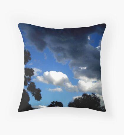 heaven above. Throw Pillow