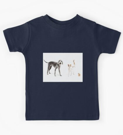 Pet Family Kids Tee