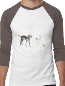 Pet Family Men's Baseball ¾ T-Shirt