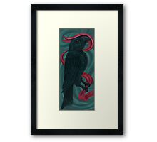 The Crowe Framed Print