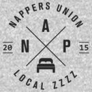 """NAP"" Nappers Union  by typeo"