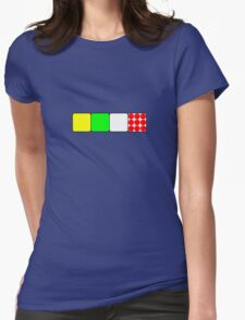 Tour De France Jerseys Alt 1 Green Womens Fitted T-Shirt